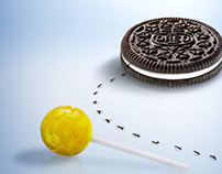 "Oreo ""Nothing Else Matter"" Print Advertisement"