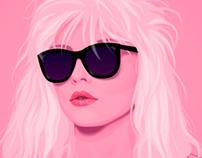 Portrait of Debbie Harry