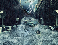 Rainstorm Photo / Manipulation