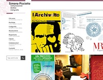 Simona Picciotto personal portfolio