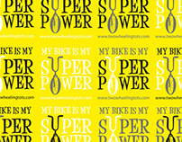 My bike is my super power