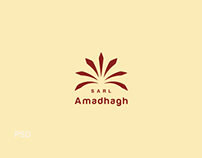 Amadhagh - brand identity