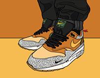 Nike AM 1 x Atmos