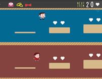 Ninio (Mini-Game for our Wedding-Website)