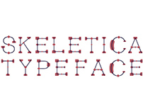 Skeletica Typeface