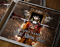 CD Cover and Jewel Case Artwork
