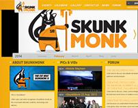PSD2HTML : Skunkmonk.com.au (2012)