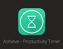 Achieve - Productivity Timer | Android App Design