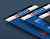 Apple iPhone App Design for HDFC Bank Mobile Banking