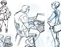 Sketches/Life Studies