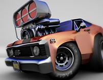 Chevy-Nova-427/3DCG