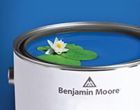 Benjamin Moore Print Ads