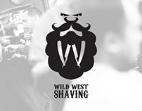 Wild West Shaving LOGO Contest Entry (2014)