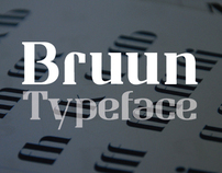 Bruun - Typeface