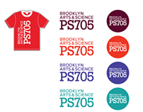 PS705 PTA Identity, T-shirts & Buttons Designs