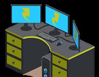 Game Art - Pocketz Furniture Sets