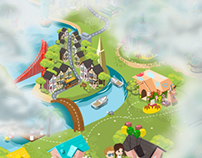 Pocketz Worldmap + Icons