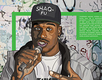 Shaq Uncut: My Story Book Illustration (2013)