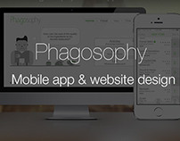 Phagosophy Mobile app & website design