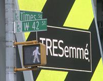 TRESemmé Fashion Week Times Square Takeover