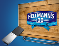 Hellmann's 100 Years Smart TV Microsite