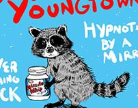 "J Robert Youngtown/The Lucky Dips split 7"""