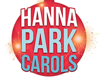 Hanna Park Carols - Logo and Collatoral