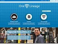 Lineage Logistics Intranet Compositions