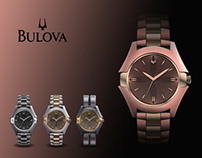 Concept Watch Design For Bulova