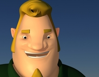 Jeffrey - Cartoon Character