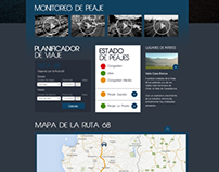 Ruta Abertis _ website proposal