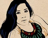 Zee Avi Illustration