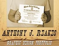 Anthony Reakes Portfolio