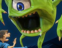 Mike Wazowski: Scare Extraordinaire!