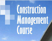 Single page flyer for a Construction Management Course