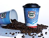 Donut Bank Winter Seasonal Cup