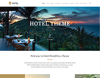 Home-Page - Hotel WordPress Theme