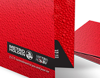 Metro Holden Presentation Folders