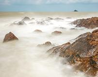 Telok Ramunia, Beach