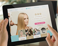 Website for Leol Chain of Salons