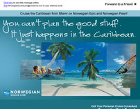 Norwegian Cruise Line Email Campaign 1