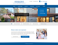 Webdesign for insurance company.