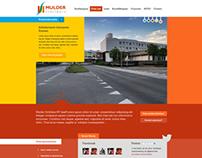 Webdesign (first concept)