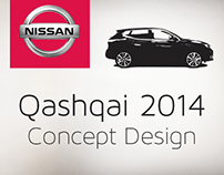 Nissan Qashqai 2014 launch concept design