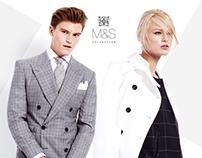 M&S BEST OF BRITISH SPRING 2014 COLLECTION