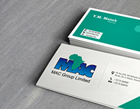 Business Card MAC GROUP (Tanzania)