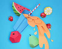 La Serenisima - Nutritious Smoothies posters