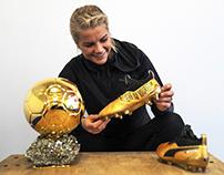 Custom Puma One boots for Ada Hegerberg