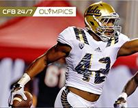 NFL Networks: CB 24/7 Olympics Corner Flag