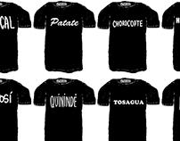 Camisetas Ecuador